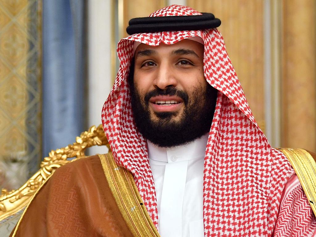 (FILES) In this file photo taken on September 18, 2019 Saudi Arabia's Crown Prince Mohammed bin Salman attends a meeting with the US secretary of state in Jeddah, Saudi Arabia. - Saudi Arabia's crown prince said in an interview aired on September 29, 2019 that war with Iran would devastate the global economy and he prefers a non-military solution to tensions with his regional rival. (Photo by MANDEL NGAN / POOL / AFP)
