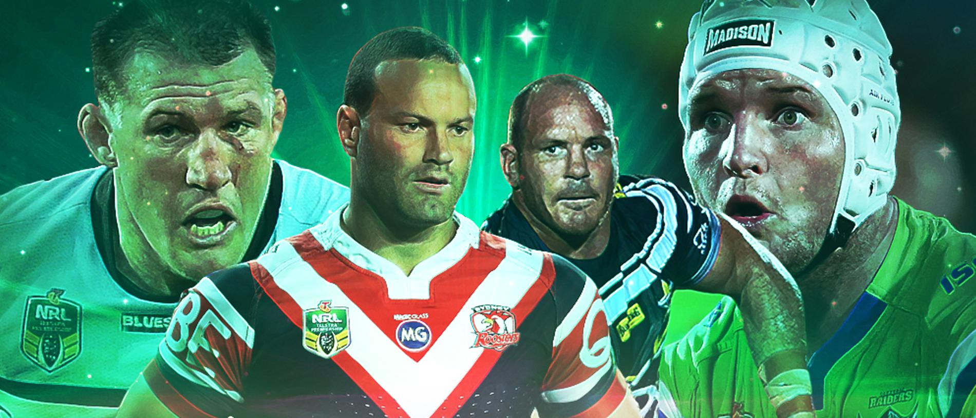 Paul Gallen, Boyd Cordner, Matt Scott and Jarrod Croker look set be some of the last of a dying breed.