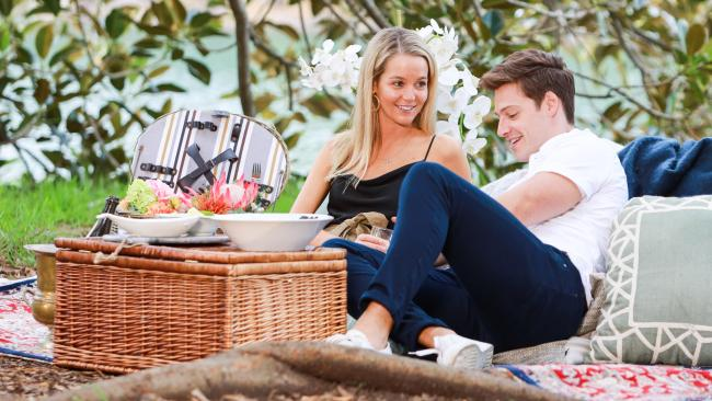 Helena's single date with Matt didn't end as she hoped it would. Image: Network TEN