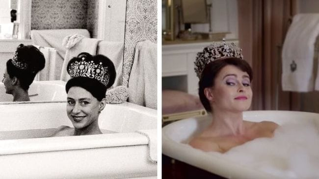 Uncanny, right? Image: Getty/The Crown