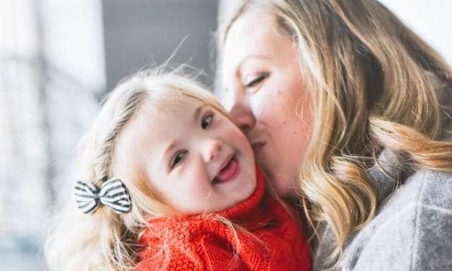 As Felicity grew, Alyse realised she needed to celebrate her daughter as she was. Source: Alyse Biro