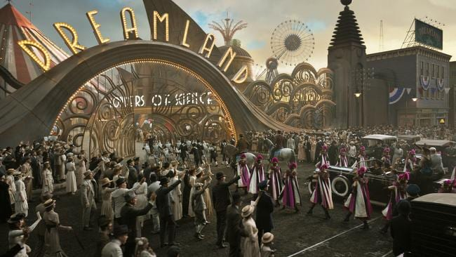 Tim Burton's visual flair is on show in Dumbo. Picture: Disney via AP