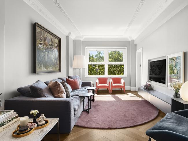 The apartment at 19/123 Macleay St, Potts Point has been completely redone.