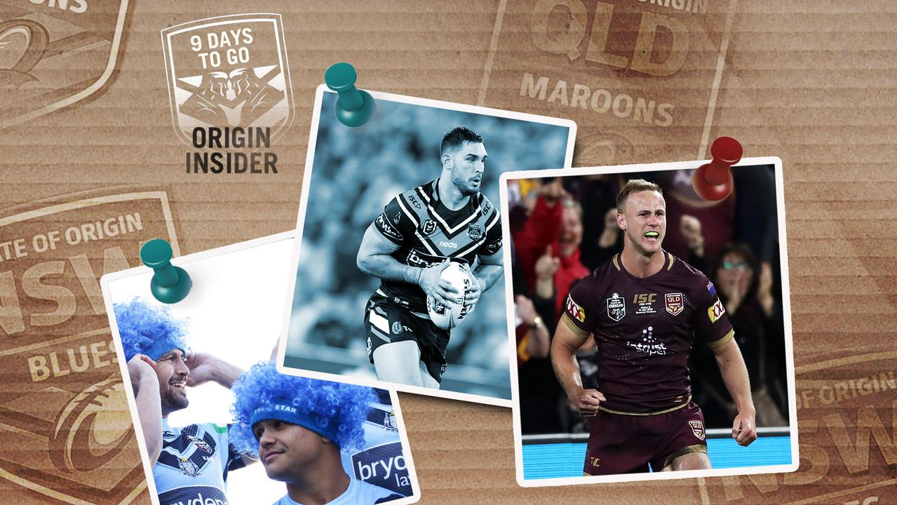 Ryan Matterson is in the Blues set-up, while DCE says he's 100% fit