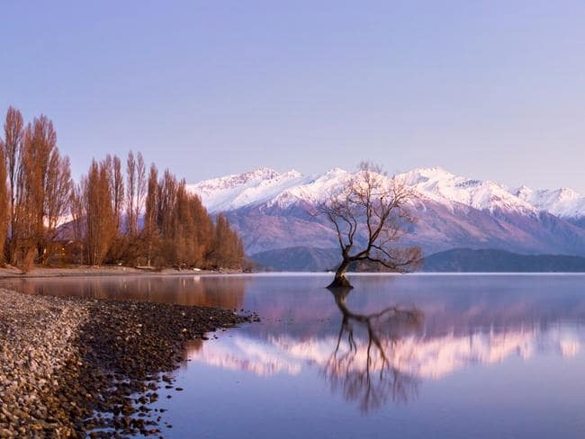 Peter Thiel has just bought a huge lake front site in the scenic South Island town of Wanaka. Agent Graham Wall said the property had been on the market for five years. Picture: istock
