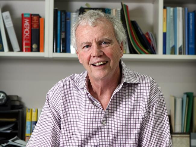 Passed away ... Psychologist Dr Kidman, seen at his offices in Sydney was a highly-respected researcher and author.