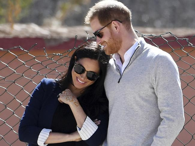 Meghan and Harry will soon become parents. Picture: AP