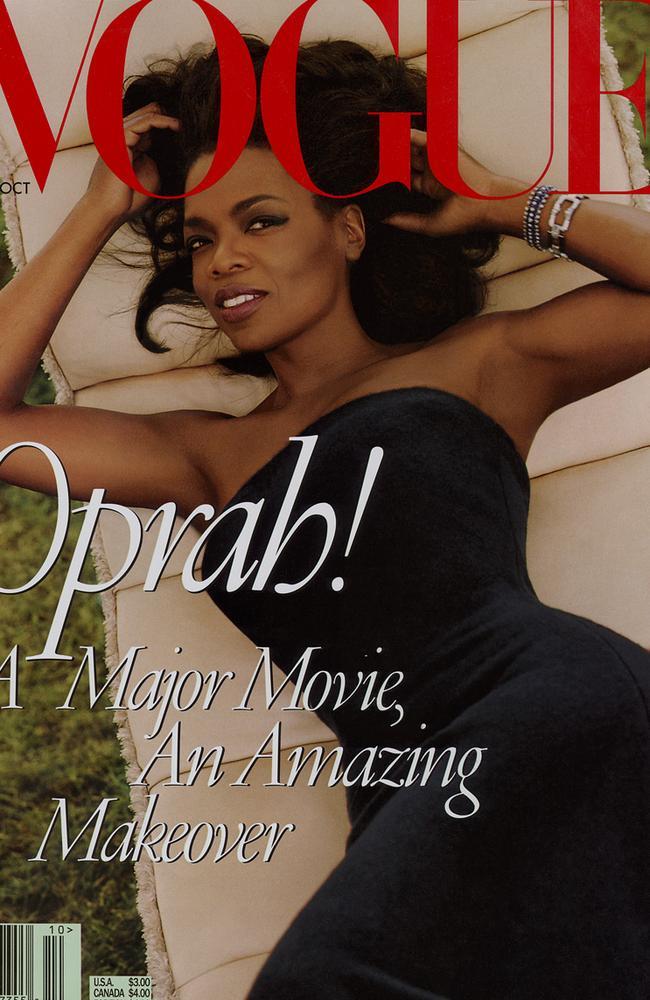 Oprah covers Vogue.