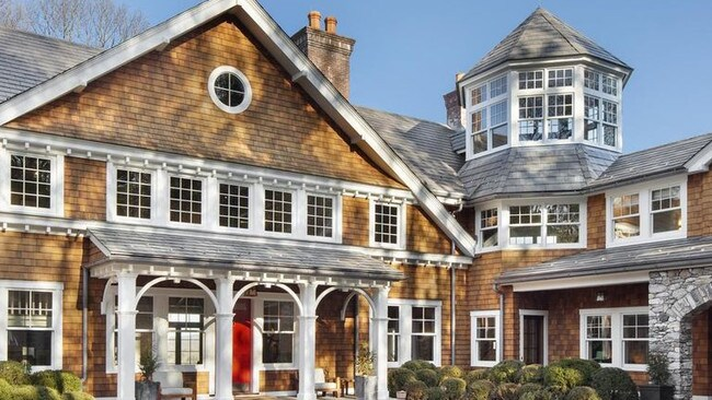 The main house of Bruce Willis' sprawling New York estate. Picture: Rob Lowell Photography