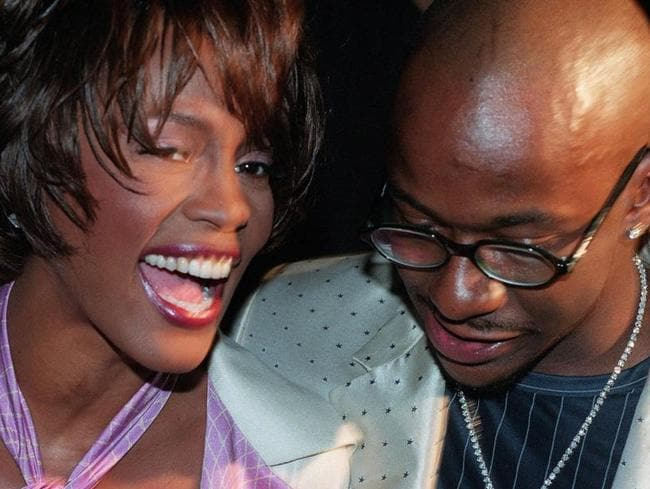 Whitney Houston and her husband Bobby Brown had a volatile relationship. Picture: AP