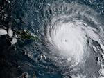 This satellite image obtained from the National Oceanic and Atmospheric Administration (NOAA) shows Hurricane Irma at 1130 UTC on September 6, 2017.Picture: AFP PHOTO / NOAA/RAMMB