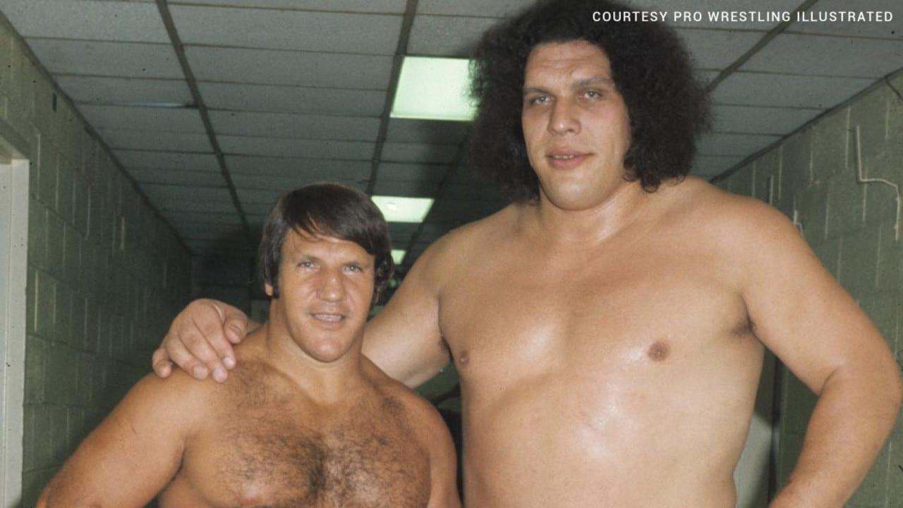 Bruno Sammartino with Andre the Giant.