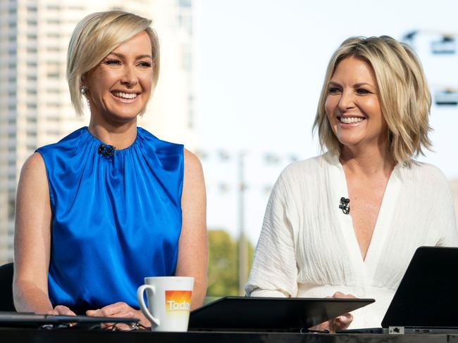 Deb Knight and Georgie Gardner reportedly had a tense relationship.
