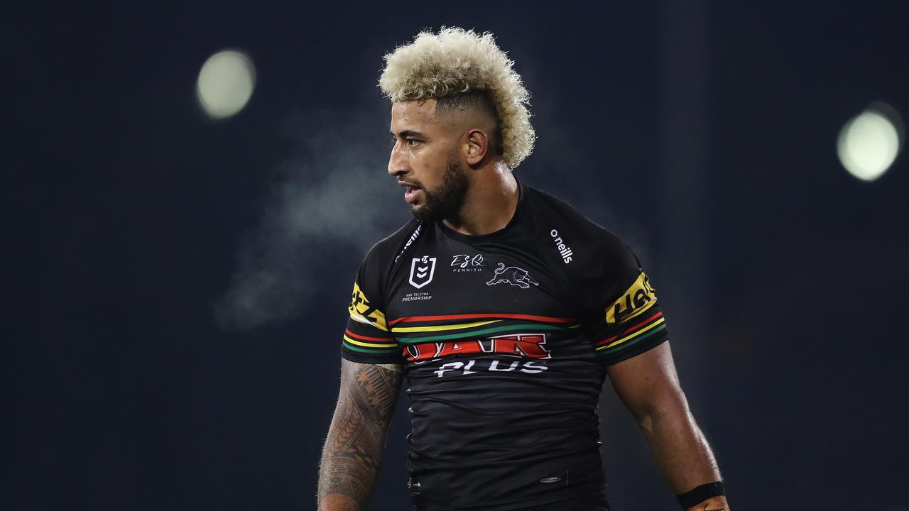 Penrith are learning how to effectively use Viliame Kikau. Picture: Brett Costello
