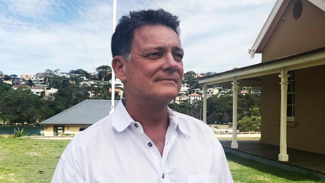 Dr Vic Peddemors from the NSW Department of Primary Industries speaks about the first shark attack in Botany Bay in at least 25 years. Picture: AAP