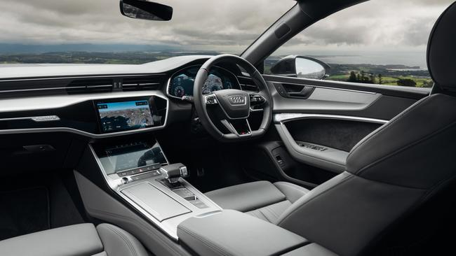 A7 cabin: Luxury meets sporty, rear seats are a little claustrophobic but boot space is big