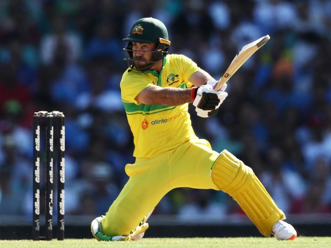 Maxwell scored 85 runs at 42.50 in the recent series against India.