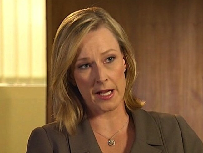 Leigh Sales was armed with more tough questions.
