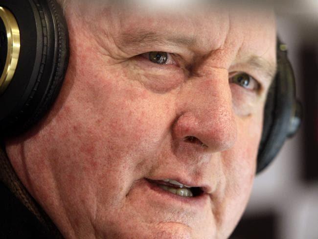Broadcaster Alan Jones. Picture: John Grainger