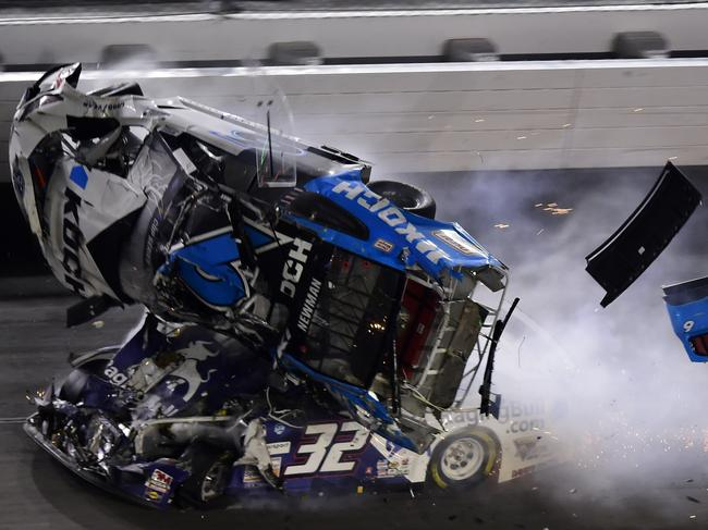 Ryan Newman was bumped in the back, sparking the horrifying crash.