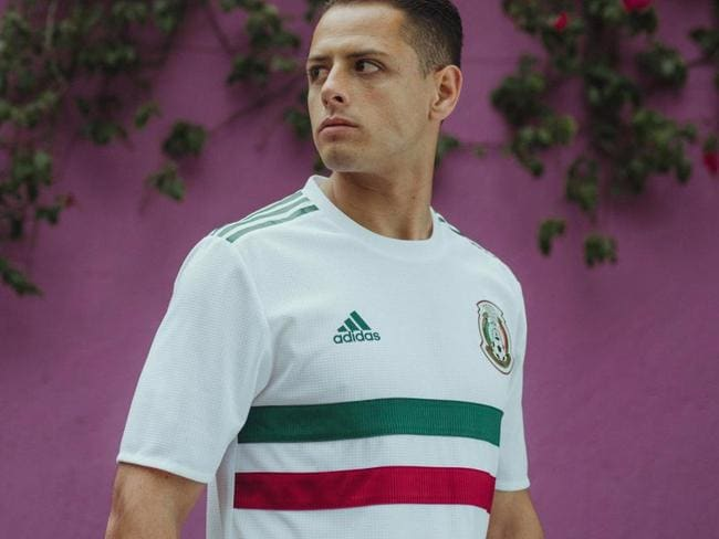 Mexico's new World Cup away kit