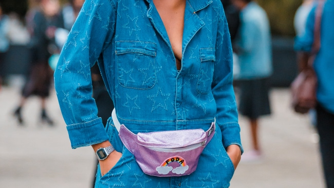 A bum bid for a bum bag. Photo: Mauricio Santana/Getty Images