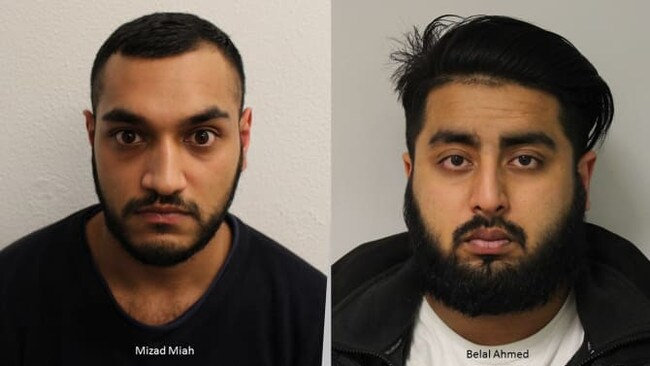 The two men were jailed for the horrific act. Picture: Metropolitan Police