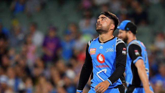 Rashid Khan of the Striker had his worst SuperCoach BBL score of the year in Round 9