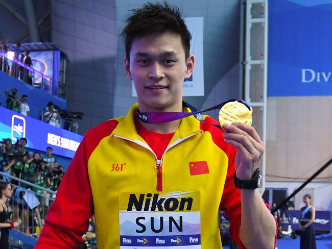 Sun Yang is the world's most controversial swimmer.