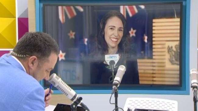 Jacinda Ardern on The AM Show.