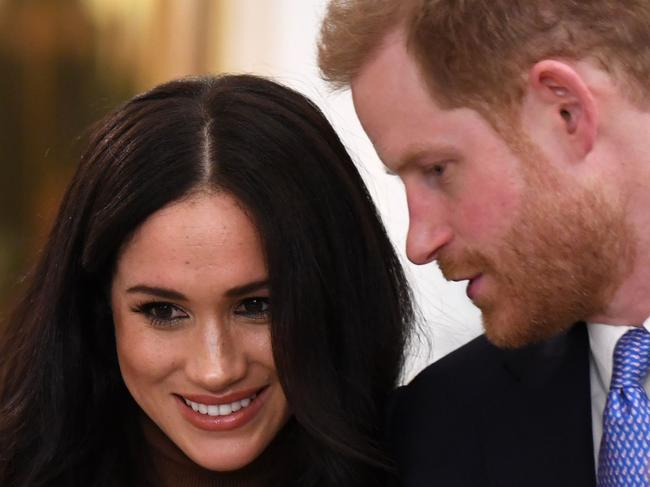 Meghan and Harry reportedly won't live in the US while Mr Trump is President. Picture: AFP