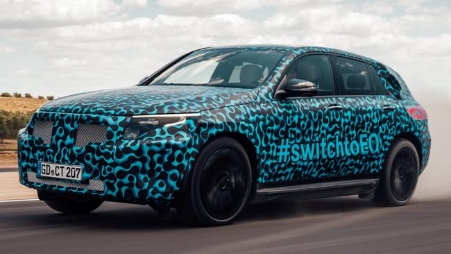 Mercedes-Benz EQC: Set for production next year