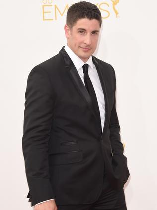 Jason Biggs attends the 66th Annual Primetime Emmy Awards.