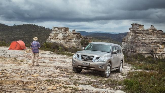 The Nissan Patrol in its natural habitat. Pic: Supplied.