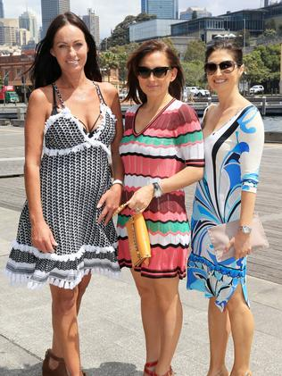 Kim Medich, Carla Farah and Mary Theos at the Beach House lunch for Sydney Children's Hospital Foundation.