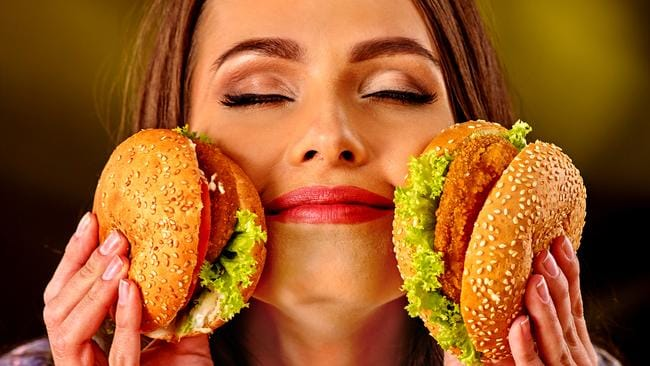 Dietitian Emily Field said you would be better off having a second burger than fries at Maccas. Picture: iStock