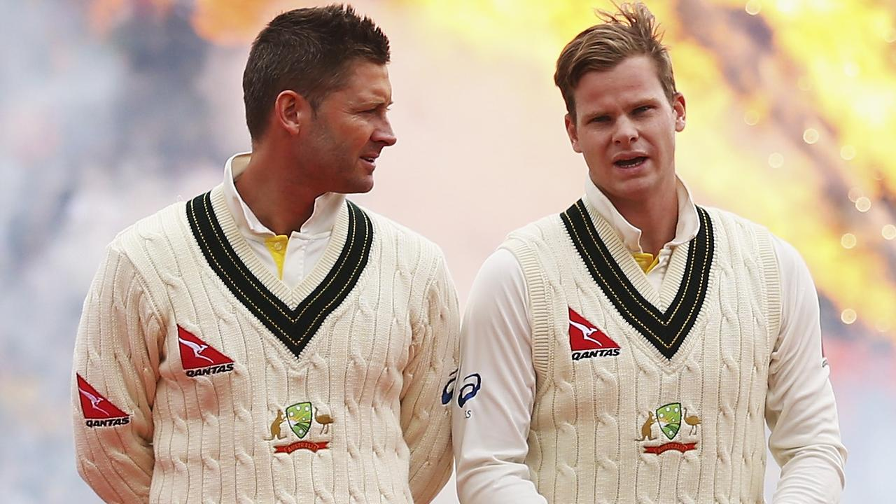 Michael Clarke wants Steve Smith to reject the captaincy if it is offered to him.