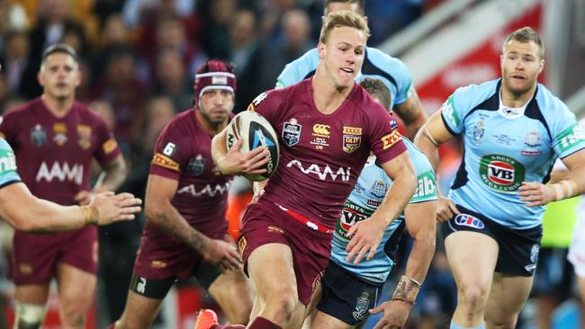 Daly Cherry-Evans makes a break during game three of the 2014 State of Origin series.