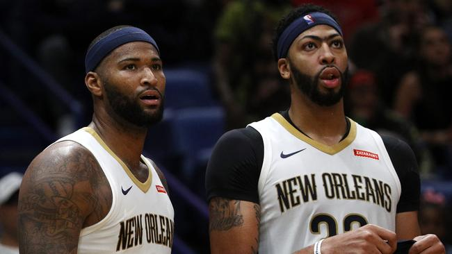 New Orleans' deadly duo DeMarcus Cousins and Anthony Davis.