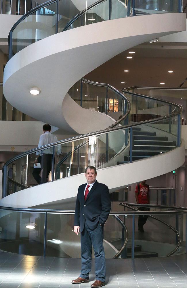 Taken possession of its latest genome sequencing machine ... Professor John Mattick; Executive Director of the Garvan Institute in Sydney. Picture: James Croucher
