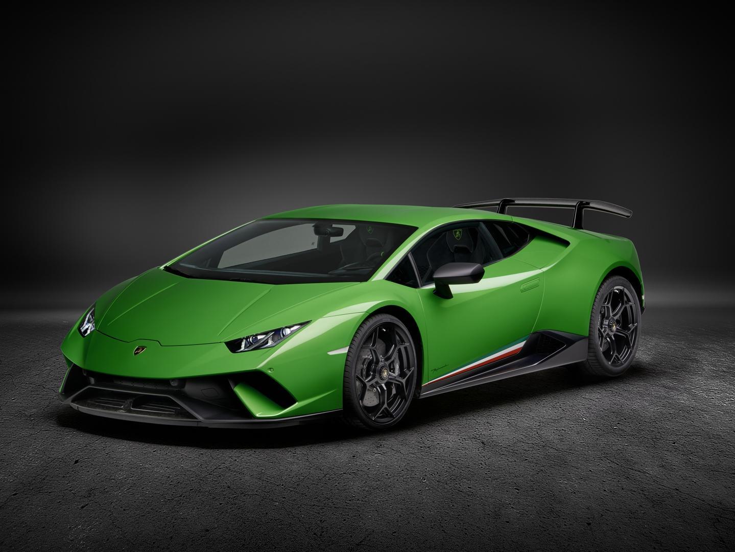 The Lamborghini Huracan Performante. Photo: Supplied.