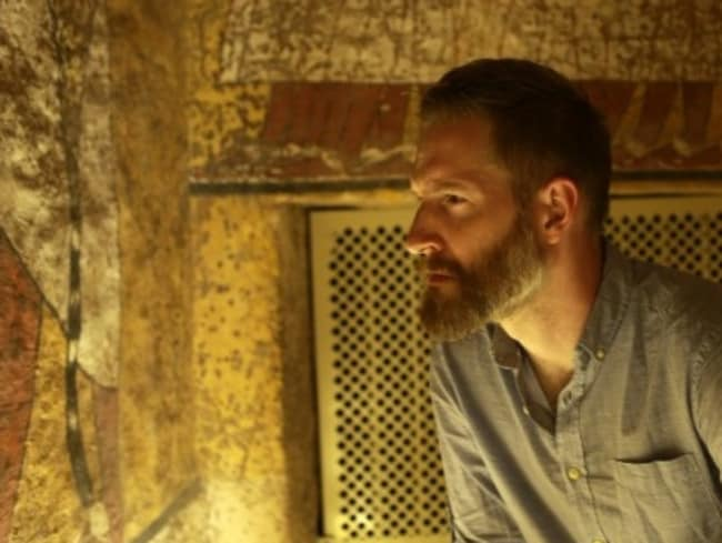 Dr Naunton believes ancient Egyptians could have duped us all this time. Picture: Rob McDougall/BBC
