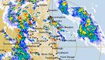 Severe storm warnings are active for much of southeast Queensland. Picture: Bureau of Meteorology