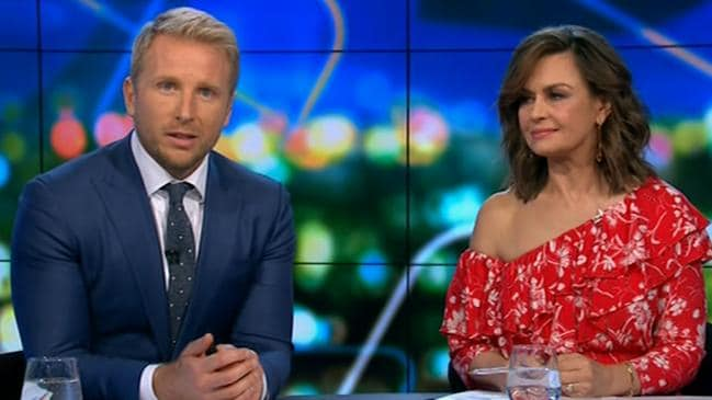 'We didn't keep her safe,' the Project host said. Picture: Channel 10.