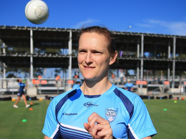 Aley has played more than 100 games for the NSW Breakers. Pic Mark Evans