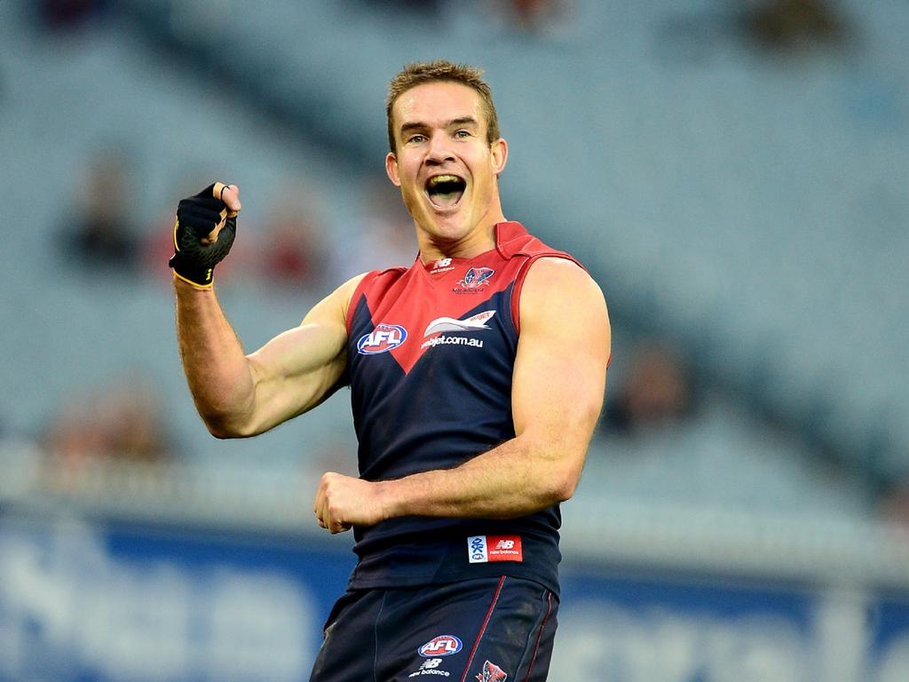 Melbourne's Brad Green was replaced as captain for the 2012 season. Picture: Wayne Ludbey