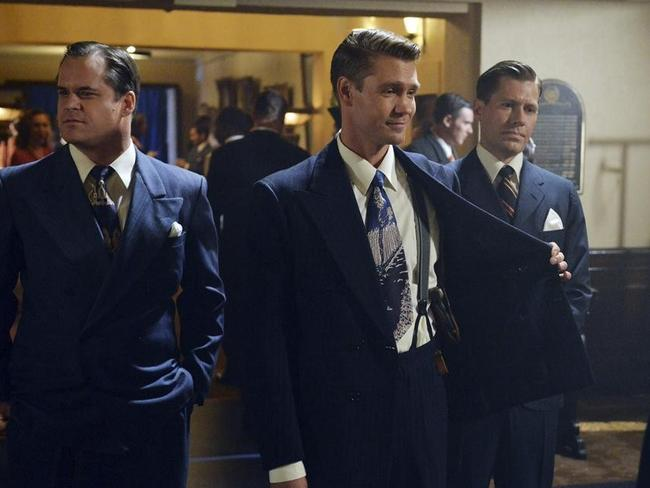 Chad Michael Murray in a scene from season 1 of Agent Carter. Picture: ABC/Eric McCandless
