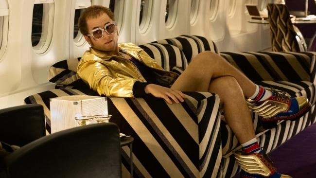 Taron Egerton as Elton John. Image: Paramount