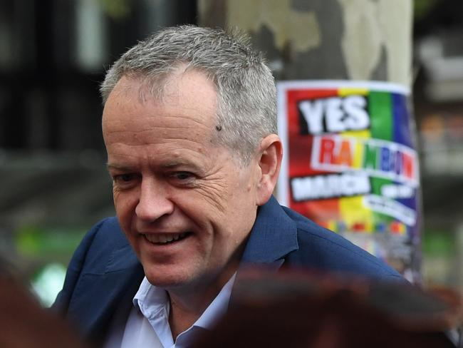 Labor leader Bill Shorten has been outspoken in his support for gay marriage despite slamming the government's $122 million postal survey. Picture: AAP
