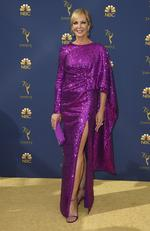 Allison Janney arrives at the 70th Primetime Emmy Awards on Monday, Sept. 17, 2018, at the Microsoft Theater in Los Angeles. (Photo by Jordan Strauss/Invision/AP)